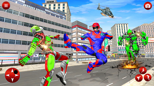 Superhero Robot Speed: Super Hero Game screenshots 12