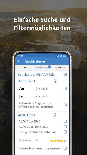 Download ADAC Camping / Stellplatz 2021 powered by PiNCAMP mod apk 1