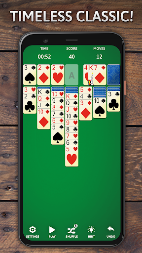 Solitaire Classic Era - Classic Klondike Card Game 1.02.07.08 screenshots 1