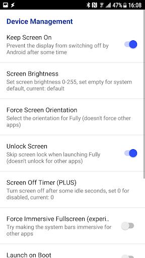 Fully Kiosk Browser & App Lockdown 1.42.4 Screenshots 8