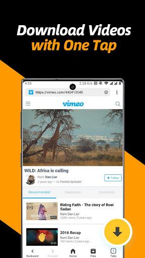 Video Downloader, Private File Downloader & Saver apktram screenshots 2