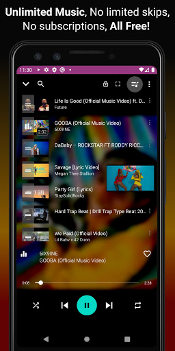 Download music, Free Music Player, MP3 Downloader 1.137 Screenshots 3