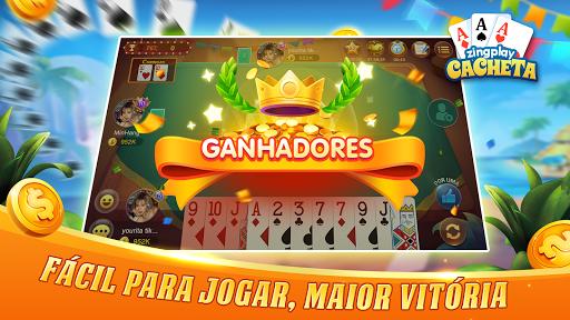Cacheta ZingPlay: Jogo de cartas online gru00e1tis 1.1 screenshots 3