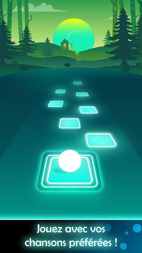 Code Triche Tiles Hop: Endless Music Jumping Ball (Astuce) APK MOD screenshots 4