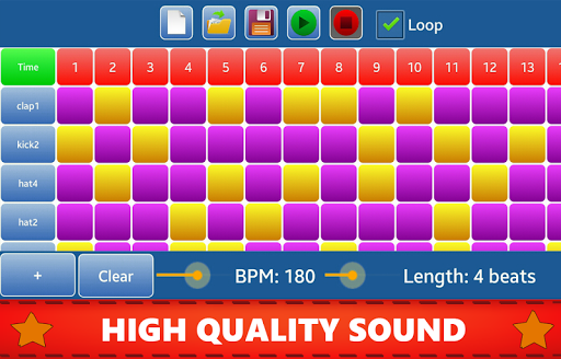 Make Beats - Drum Pad (MP3 & WAV) 3.0 screenshots 2