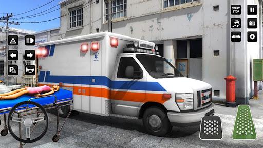 Heli Ambulance Simulator 2020: 3D Flying car games  screenshots 7
