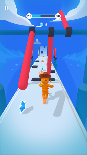 Pixel Rush - Epic Obstacle Course Game android2mod screenshots 1