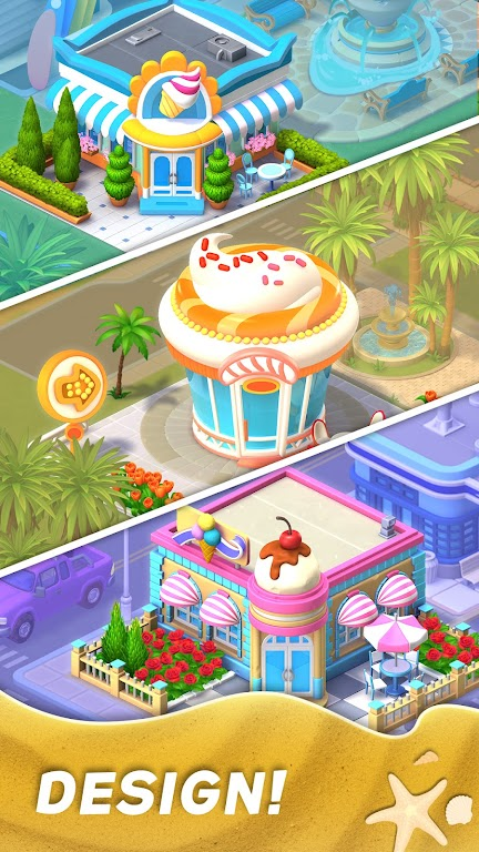 Match Town Makeover・Town Renovation Match 3 Puzzle poster 3