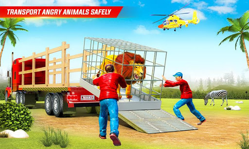 Farm Animal Transport Truck Driving Simulator 26 Screenshots 3