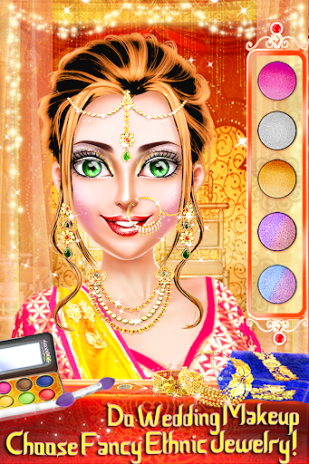 Traditional Wedding Salon - Makeup & Dress up Game screenshots 1