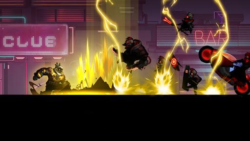 Cyber Fighters: Cyberpunk Stickman Impact Fighting screenshots 14