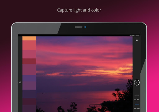 Adobe Capture : Pattern, Vector, Color Creator