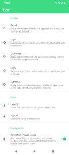 Buoy – Pimp Your Battery Saver v1.0.3 [Paid] 1