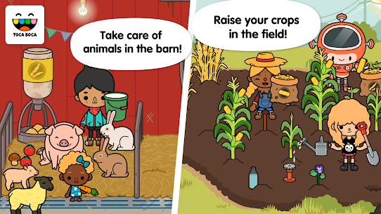 Toca Life: Farm  For Pc – Free Download For Windows 7/8/10 And Mac 1