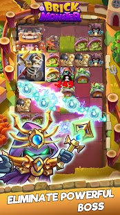 Brick Monster: Epic Casual Magic Balls Blast Game Screenshot