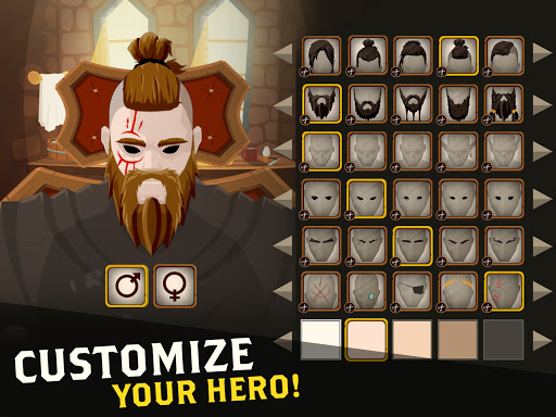 Questland: Turn Based RPG  screenshots 9