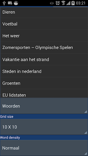 Woordzoeker nederlands screenshots 6