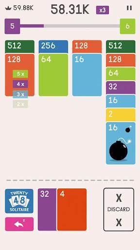2048 Zen Cards screenshots 2