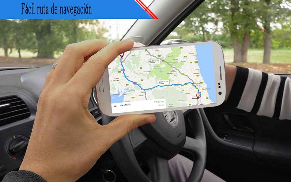 Captura de Pantalla 3 de vivir tierra calle ver mapa & ruta navegación para android