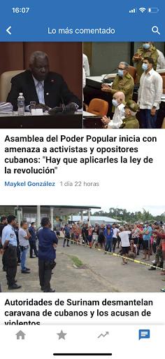 CiberCuba - Noticias de Cuba 4.5.2 Screenshots 6