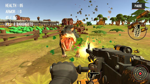Monster Killing City Shooting II  screenshots 18