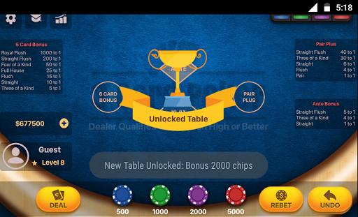 Three Card Poker 2.0.5 screenshots 3