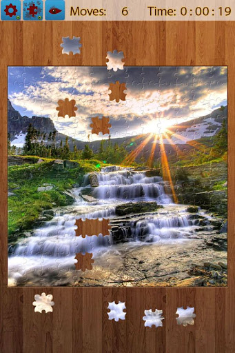 Waterfall Jigsaw Puzzles screenshots 2