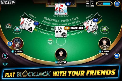 BlackJack 21 - Online Blackjack multiplayer casino 7.9.5 screenshots 2