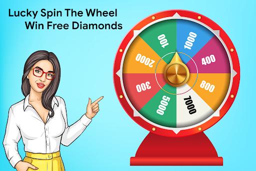 Lucky Spin the Wheel - Win Free FF Diamond screenshots 1