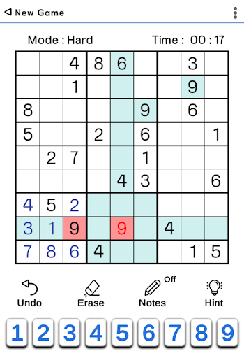 Sudoku Classic 1.5.2 screenshots 3