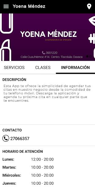Yoena Méndez screenshot 2