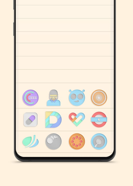 Paper Cut Icon pack New  poster 1