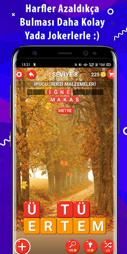 Kelime Avcu0131su0131 - internetsiz Kelime Oyunu - 2021  screenshots 5