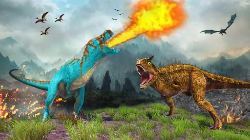 Real Dinosaur Simulator Games u2013 Dino Attack 3D 3.1 screenshots 4