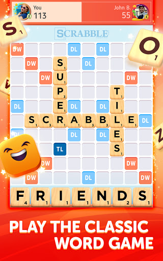 Scrabbleu00ae GO - New Word Game Apkfinish screenshots 6