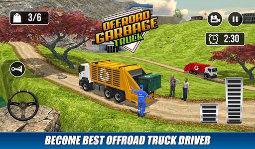 Offroad Garbage Truck: Dump Truck Driving Games 1.1.6 screenshots 6