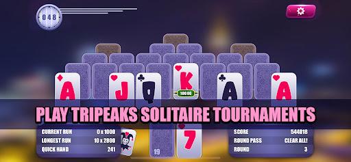 Solitaire Towers Tournaments: TriPeaks Challenge  screenshots 1