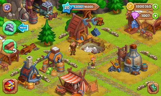 ud83cudf40 North Dragon Island - build Vikings Farm ud83cudf40 apkpoly screenshots 5