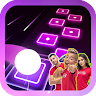 The Royalty Family Magic Tiles Hop Games game apk icon