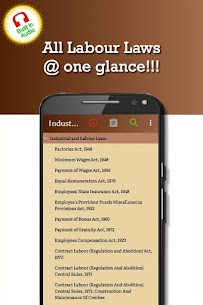Industrial And Labour Laws / Codes Apk 5