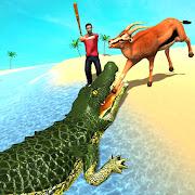 Angry Animal Attack Simulator: Crocodile Games