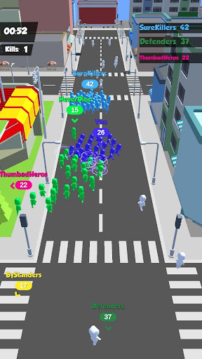Crowd Race 3D : Biggest in the city! 1.3.0 screenshots 4