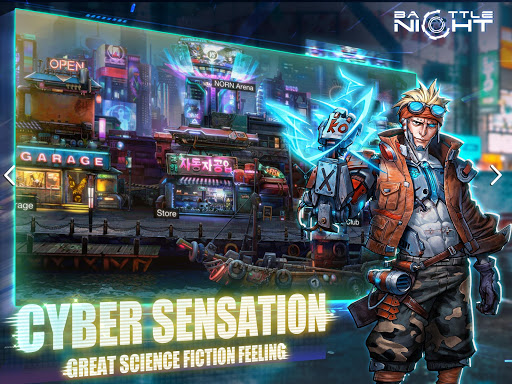 Battle Night: Cyber Squad-Idle RPG  screenshots 10