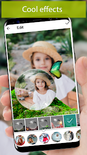 PiP camera. Picture in picture collage maker