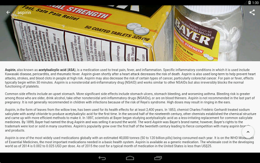 Drugs Dictionary (Free) 3.7.7 Screenshots 18