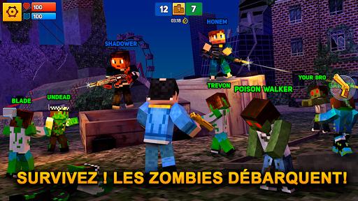 Code Triche Block City Wars: Pixel Shooter with Battle Royale (Astuce) APK MOD screenshots 4