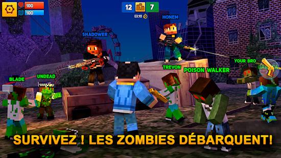 Block City Wars: Pixel Shooter with Battle Royale screenshots apk mod 4