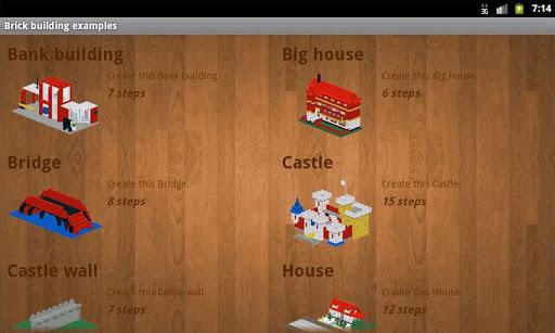 Brick building examples screenshots 4