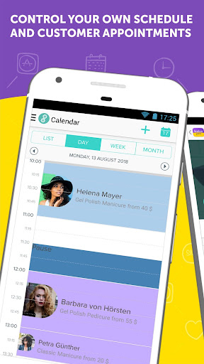 Leeloo: Appointment Scheduler & SMS text reminder screenshots 1