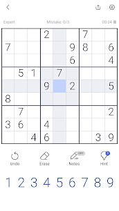 Sudoku – Sudoku puzzle, Brain game, Number game 3